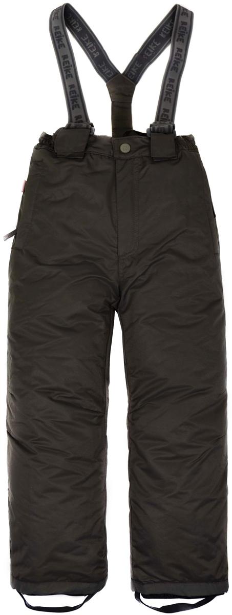 Полукомбинезон для мальчика Reike, цвет: черный. 39934200_black. Размер 13439934200_black