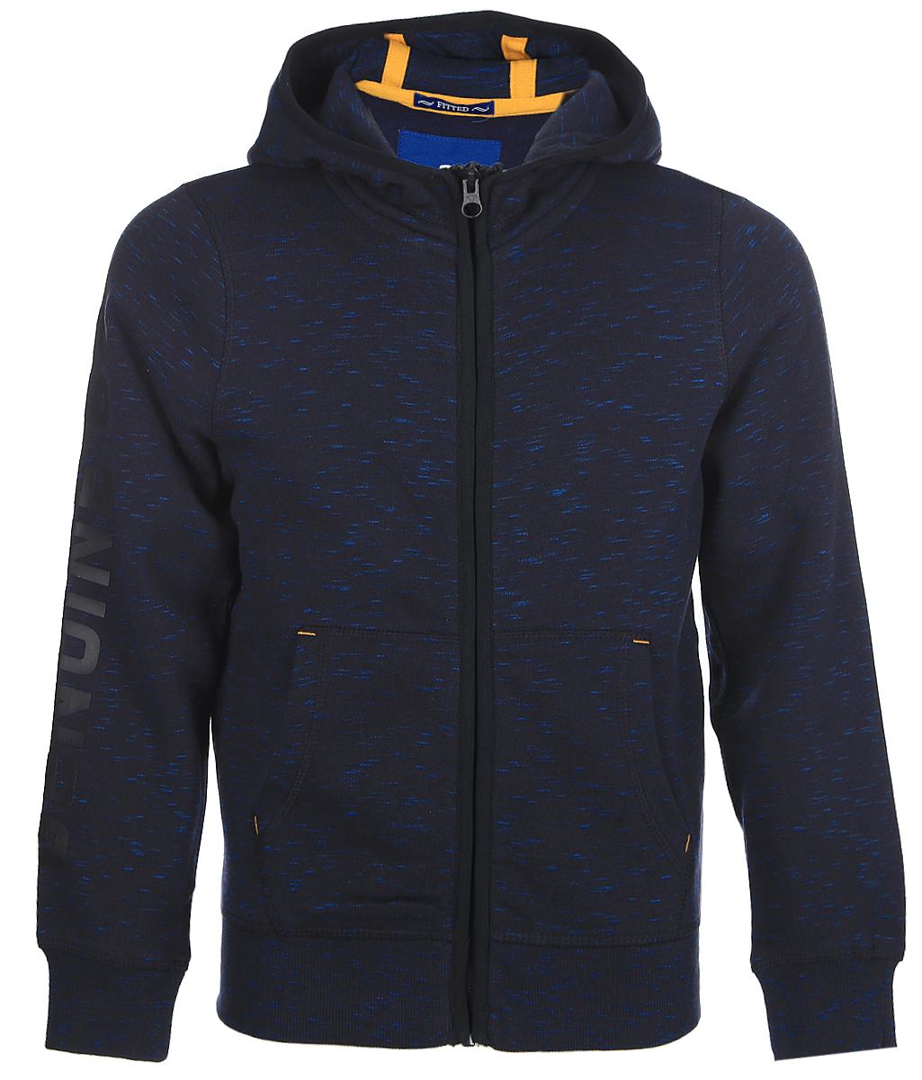 Кардиган для мальчиков Tom Tailor, цвет: синий. 2531449.00.30_6800. Размер 1642531449.00.30_6800