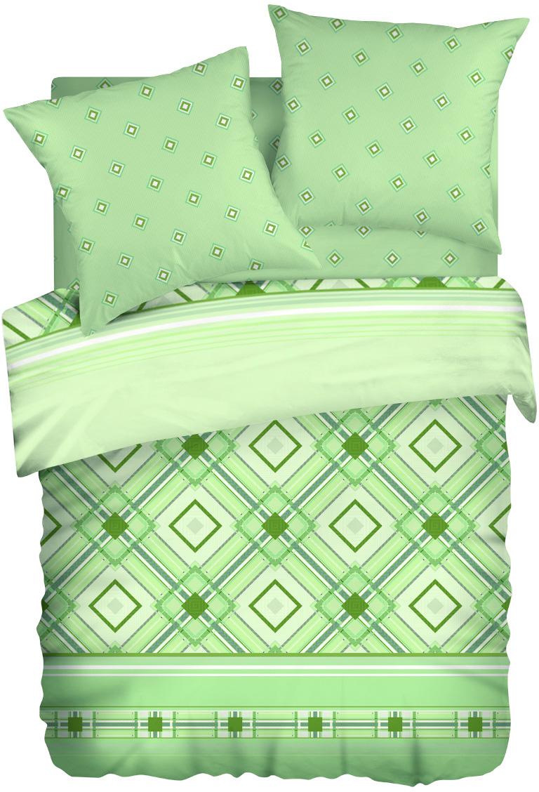 Комплект белья Wenge Darlas, 2-спальный, наволочки 70x70, цвет: светло-зеленый435998