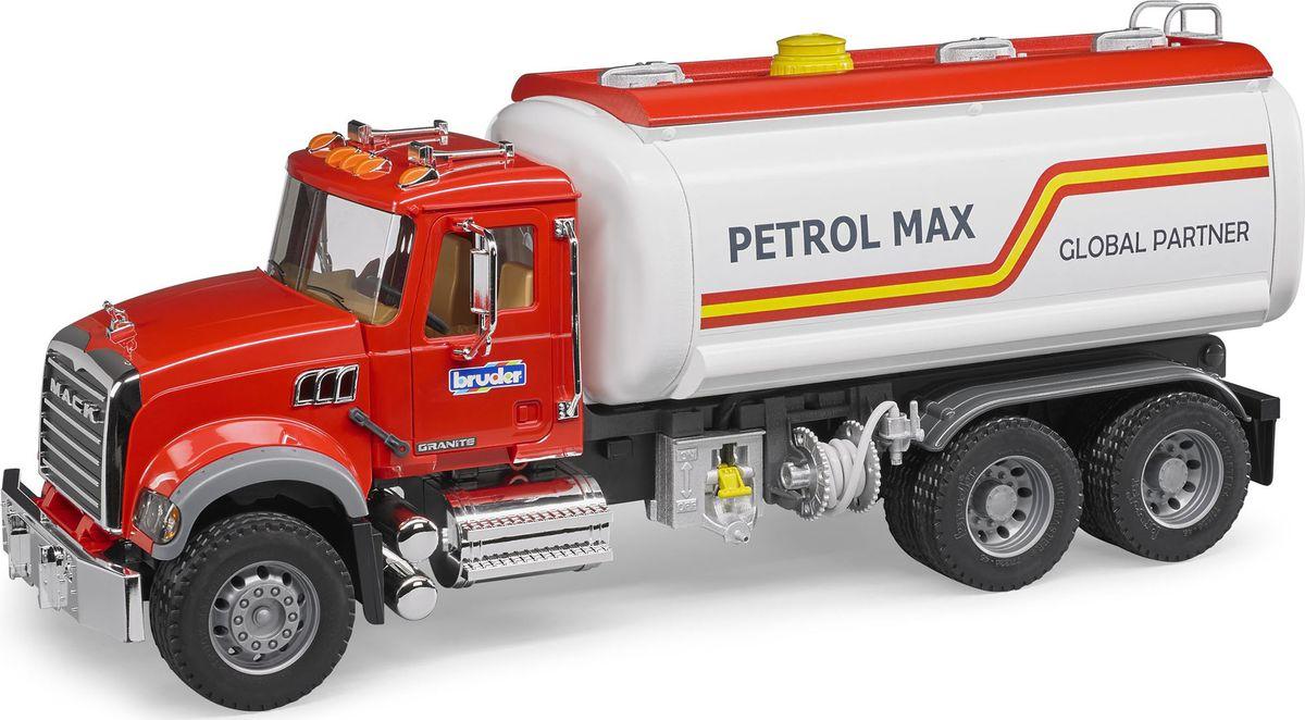Bruder Бензовоз Mack цвет красный насос подъема кабины маз цена в украине