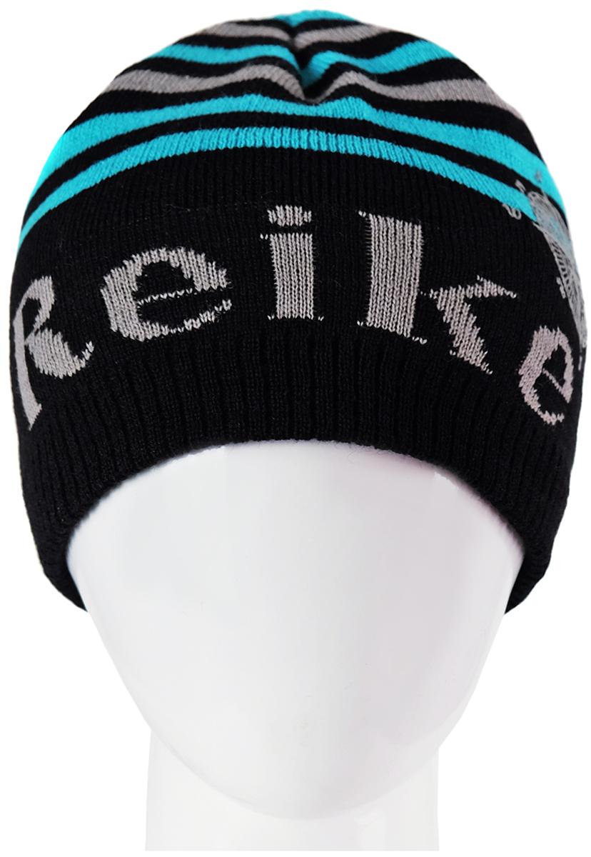 Шапка для мальчика Reike, цвет: серый. RKN1718-1_MP grey. Размер 54 reike детская обувь купить в москве