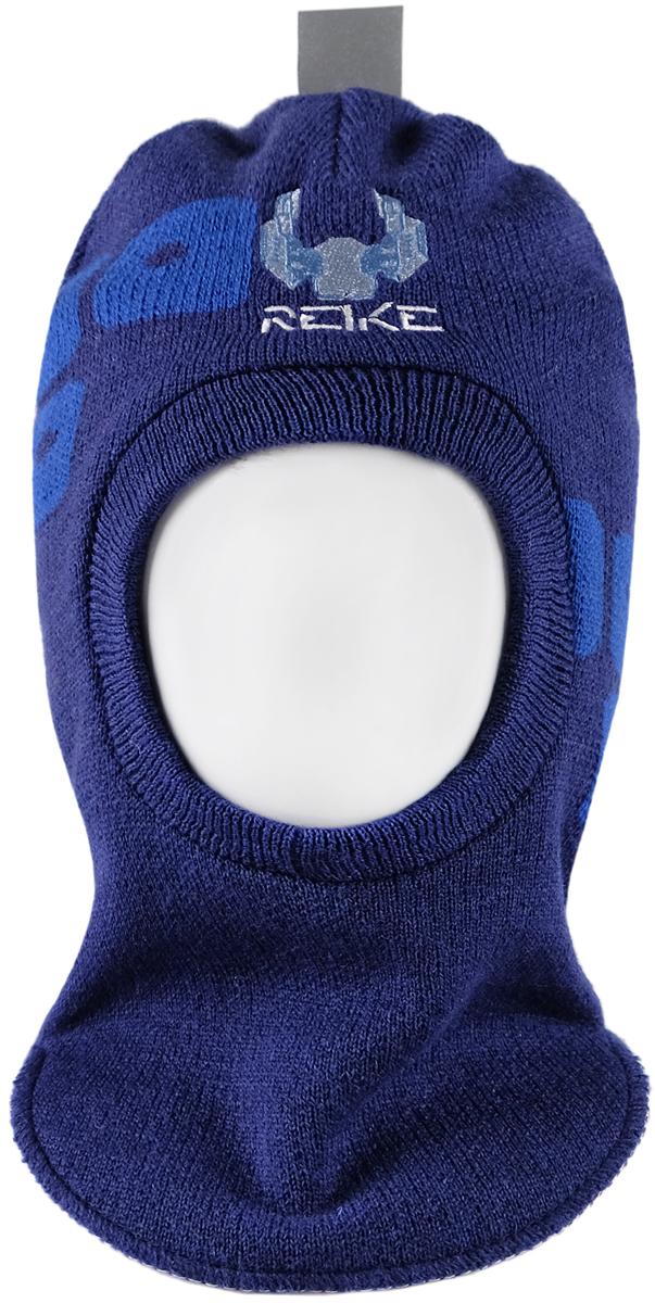 Шапка-шлем для мальчика Reike Галактика, цвет: темно-синий. RKN1718-2_GLX navy. Размер 52RKN1718-2_GLX navyШапка-шлем Reike Галактика изготовлена из высококачественного материала на основе шерсти и акрила. Модель с хлопковой подкладкой дополнительно утеплена на ушках. Шлем декорирован вышивкой в виде космолета и логотипа Reike.Шапка-шлем идеальна для ношения в зимние холода, так как надежно защищает шею и уши ребенка от холодного ветра. Уважаемые клиенты!Размер, доступный для заказа, является обхватом головы.