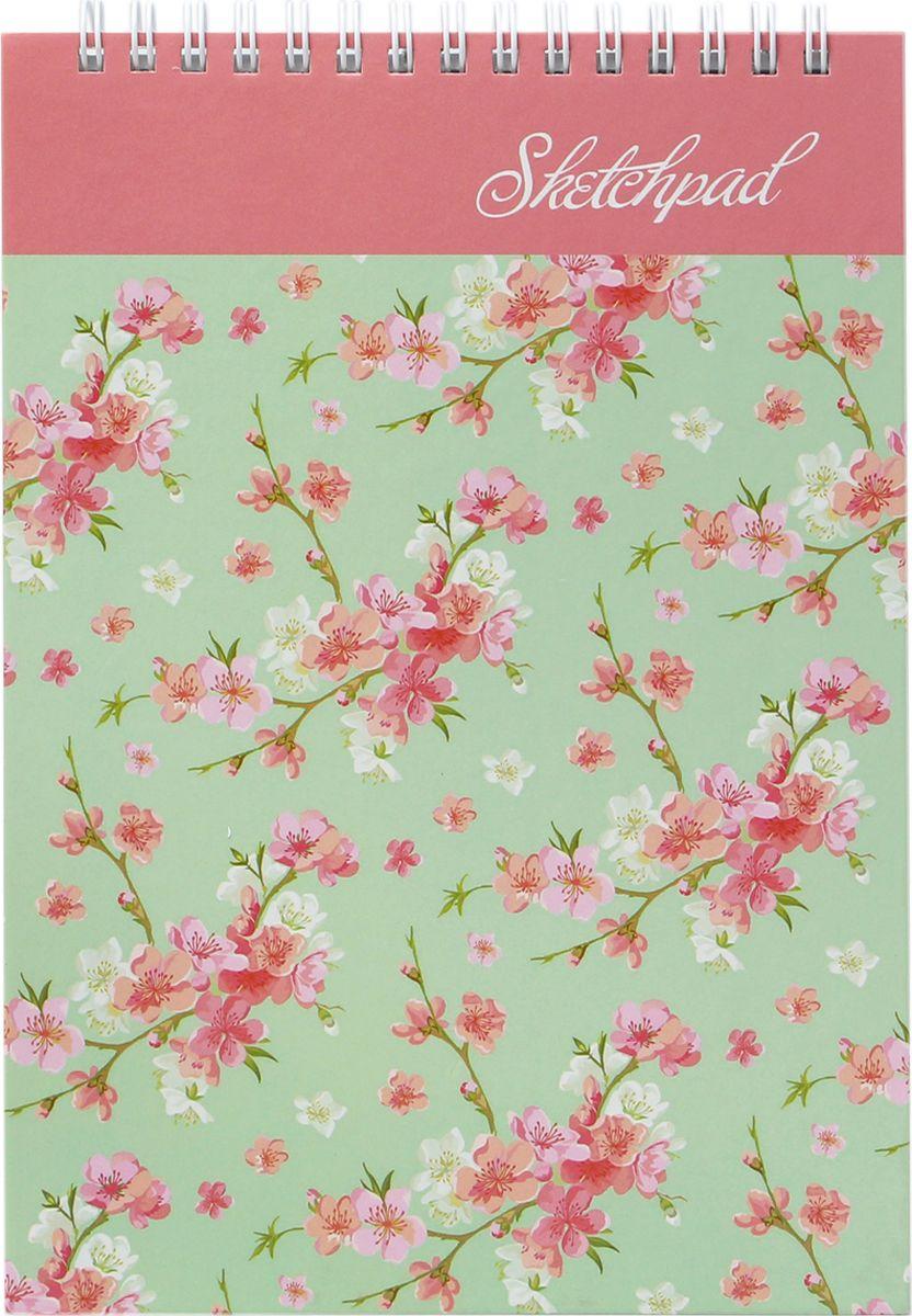 Феникс+ Альбом для эскизов Цветочный принт 60 листов45027Альбом для эскизов.Формат: 142х212 мм.Количество листов: 60.Крепление: гребень.