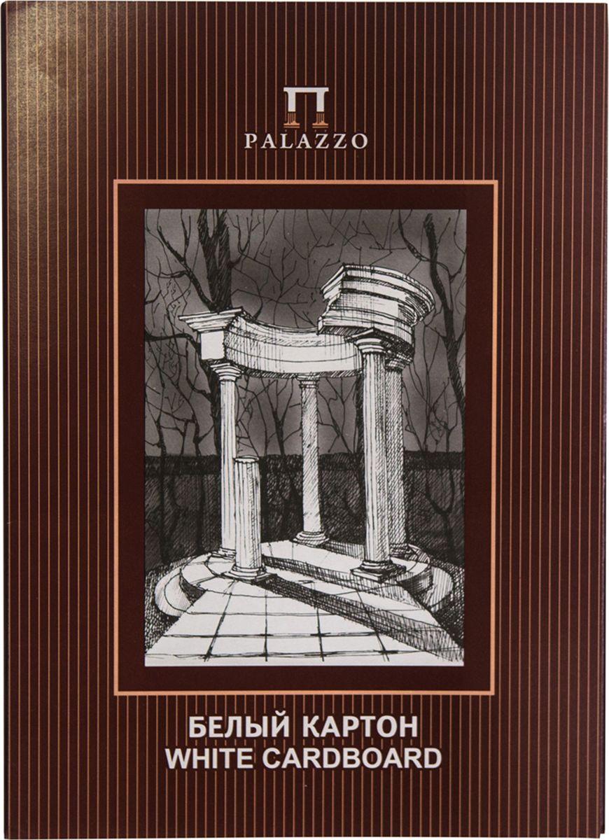 Палаццо Картон белый Беседка 10 листов