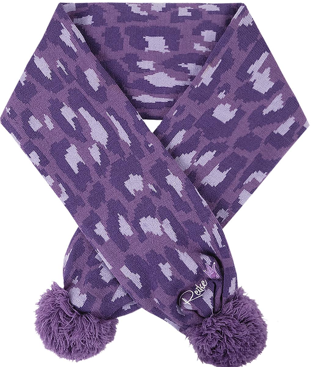 Шарф для девочек Reike, цвет: фиолетовый. RSC1718_FE purple. Размер универсальныйRSC1718_FE purple