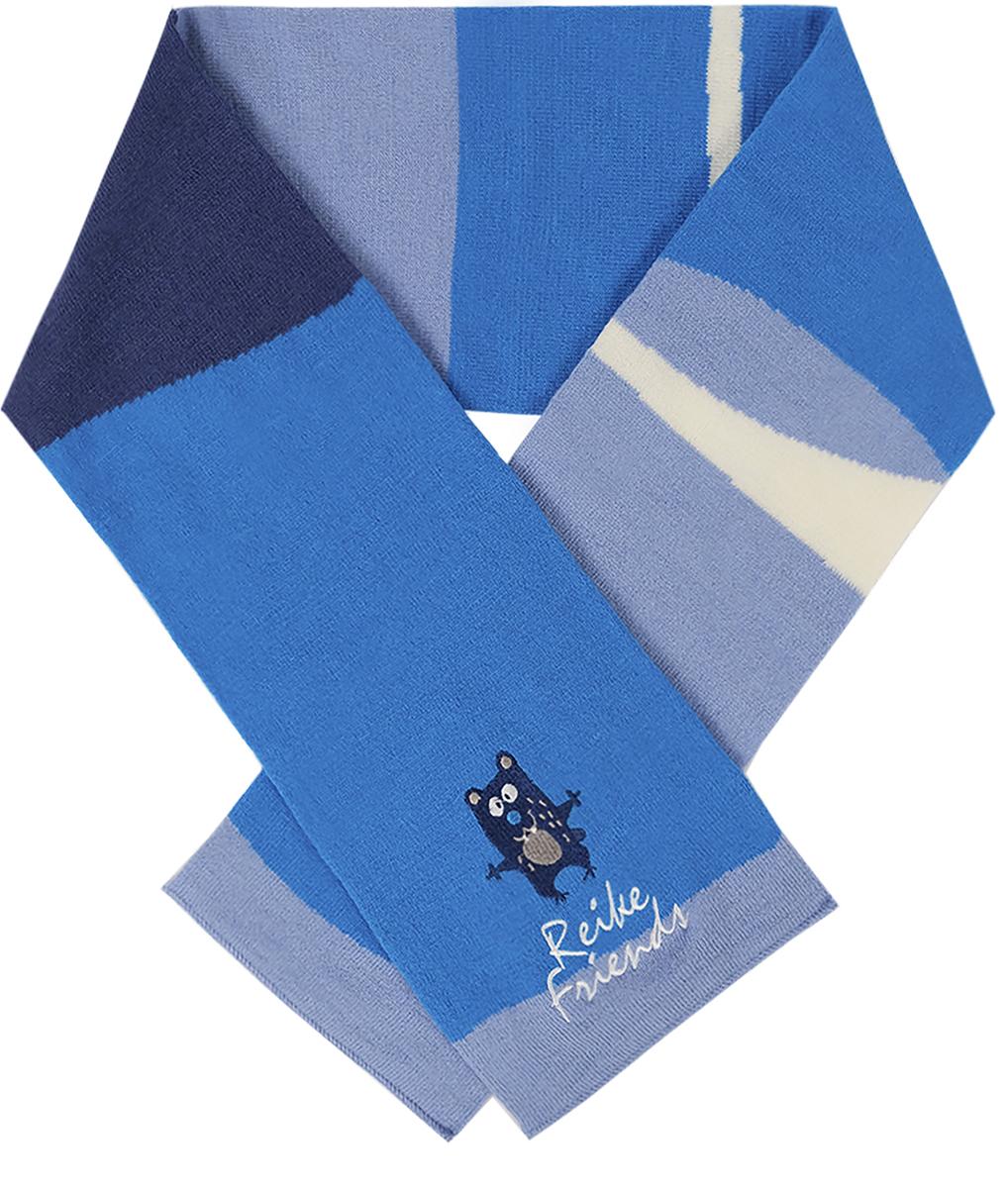 Шарф для мальчиков Reike, цвет: серый. RSC1718_FFF grey. Размер универсальныйRSC1718_FFF grey