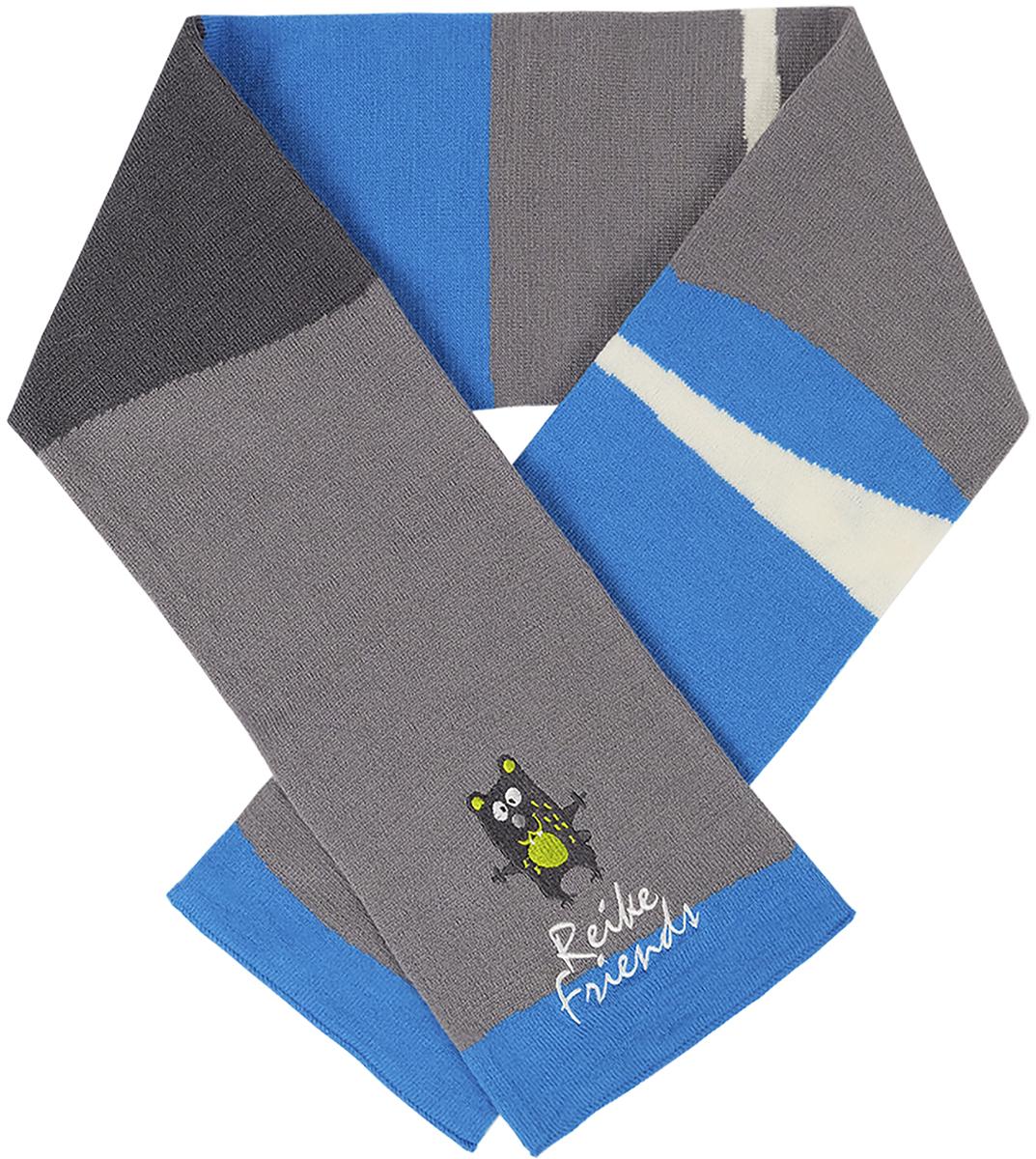 Шарф для мальчиков Reike, цвет: синий. RSC1718_FFF blue. Размер универсальныйRSC1718_FFF blue