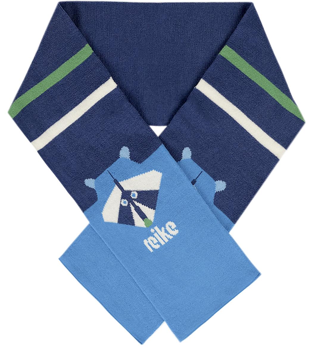 Шарф для мальчиков Reike, цвет: темно-синий. RSC1718_RCN navy. Размер универсальныйRSC1718_RCN navy