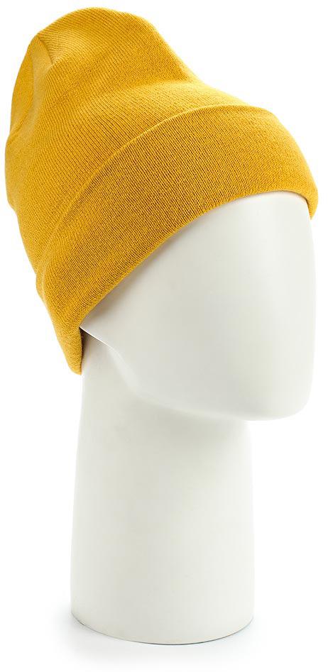 Шапка The North Face Dock Worker Beanie, цвет: желтый. T0CLN5WCW. Размер универсальныйT0CLN5WCWПростая классическая модель шапки-бини сочетает в себе интересный винтажный стиль и традиционную вязку, обеспечивая тепло в любую погоду в городе. Регулируемый отворот можно подвернуть или опустить.