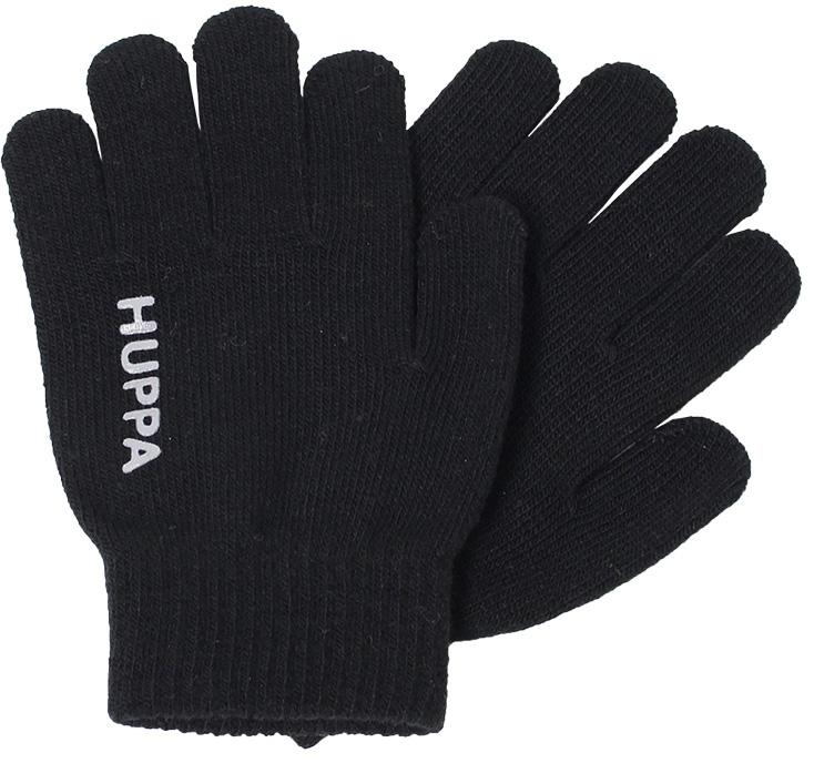 Перчатки детские Huppa Levi, цвет: черный. 82050000-00009. Размер 2 брюки утепленные детские huppa jorma цвет черный 26470010 00009 размер 110