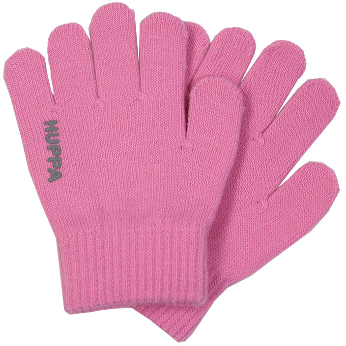 Перчатки для девочки Huppa Levi, цвет: розовый. 82050000-70013. Размер 182050000-70013Теплые перчатки Huppa Levi прекрасно подойдут для повседневных прогулок в прохладную погоду. Перчатки выполнены из акриловой пряжи. Они хорошо сохраняют тепло, мягкие, идеально сидят на руке и хорошо тянутся. Манжеты перчаток связаны плотной резинкой, благодаря чему перчатки надежно фиксируются на ручках малыша. Однотонная расцветка делает эти перчатки стильным и практичным предметом детского гардероба. В них ваш ребенок будет чувствовать себя уютно и комфортно!
