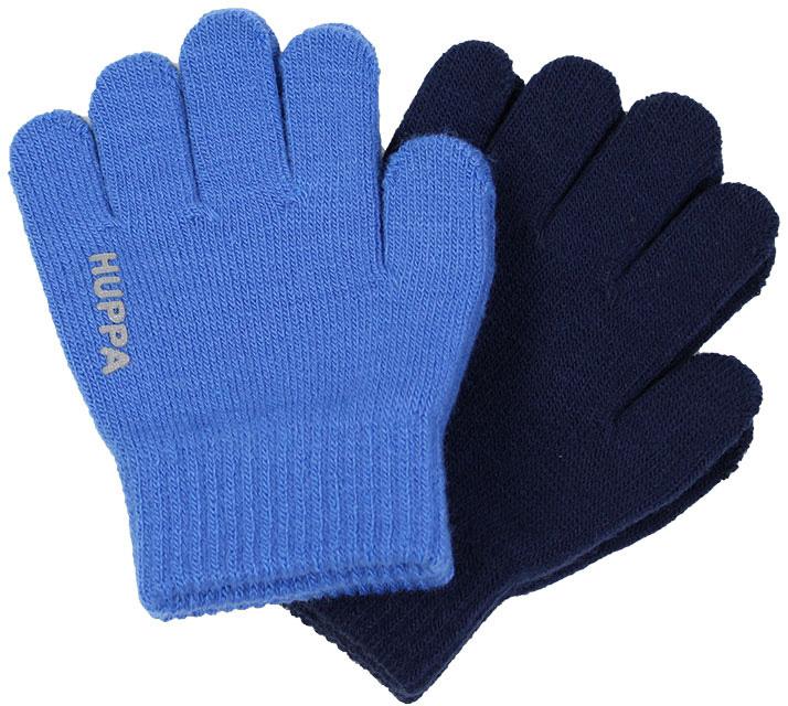 Перчатки детские Huppa Levi 2, цвет: синий, темно-синий. 82050002-00135. Размер 282050002-00135Перчатки для детей LEVI. Теплые перчатки прекрассно подойдут для повседневных прогулок в прохладную погоду.