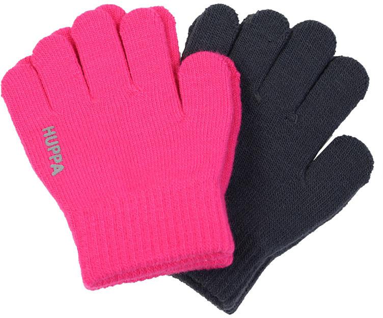 Перчатки для девочки Huppa Levi 2, цвет: фуксия, темно-серый. 82050002-00163. Размер 182050002-00163Перчатки для детей LEVI. Теплые перчатки прекрассно подойдут для повседневных прогулок в прохладную погоду.