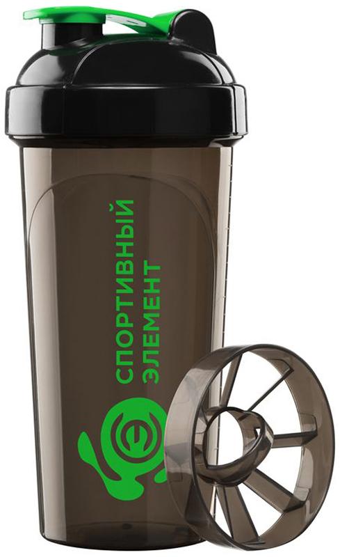 Шейкер спортивный Спортивный элемент Малахит, 700 мл. S02-700 бутылка спортивный элемент s52 2200 2 2l биотит