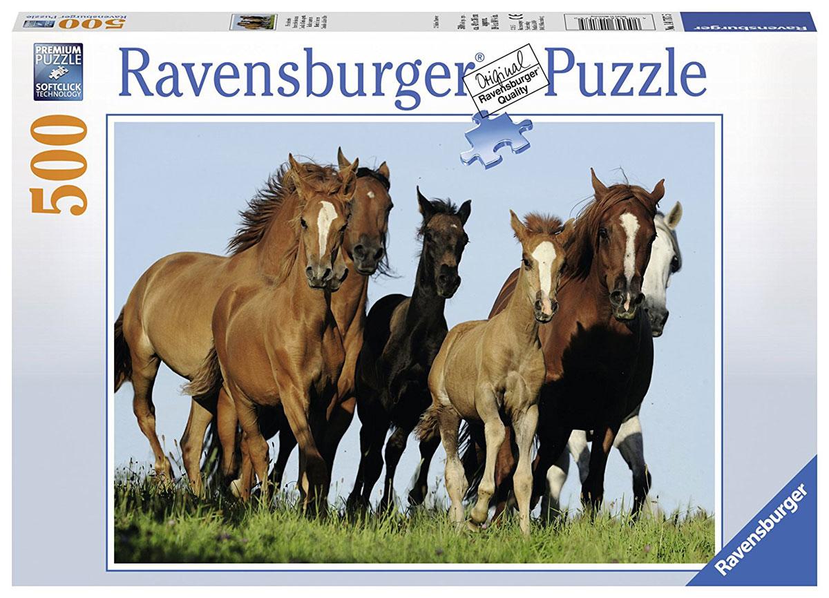 Ravensburger Пазл Табун лошадей