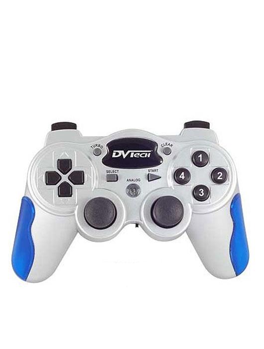 Беспроводной джойстик DVTech JS85 Free Gamer для PC/PS1/PS2JS 85Беспроводной джойстик DVTech JS85 предназначен для компьютера или игровых приставок Playstation 1 и Playstation 2.