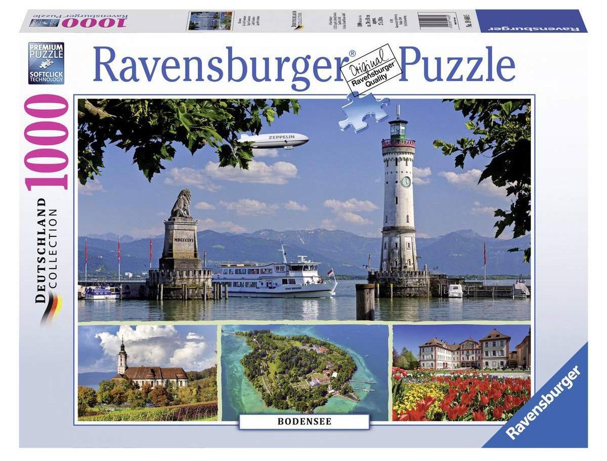 Ravensburger Пазл Боденское озеро