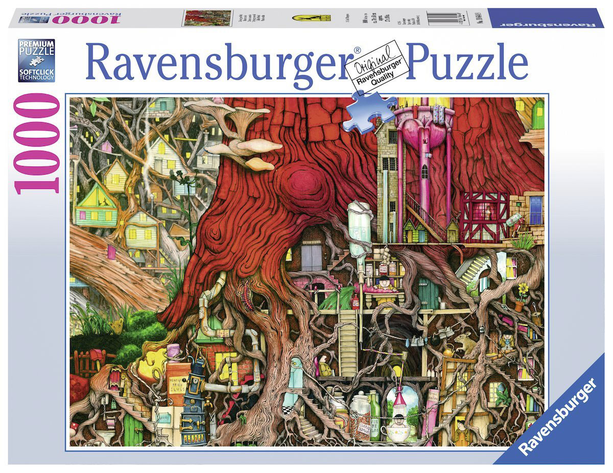 Ravensburger Пазл Секретный мир