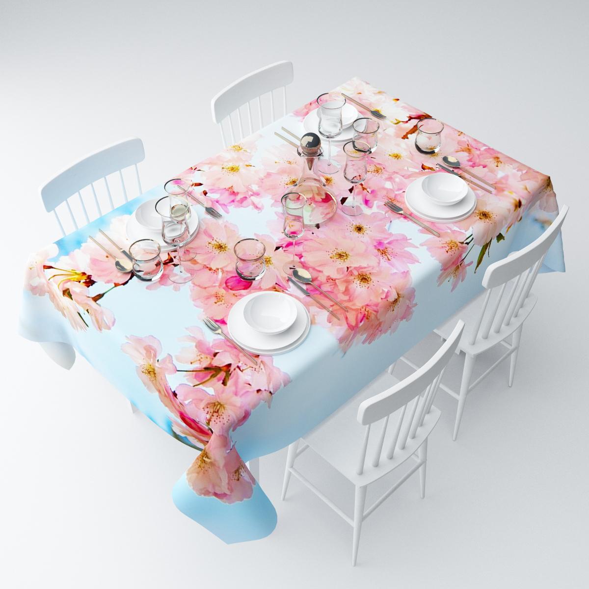 Скатерть Сирень Весна в цвету, прямоугольная, 145 х 120 смСКГБ003-08339Прямоугольная скатерть Сирень Весна в цвету, выполненная из габардина с ярким рисунком, преобразит вашу кухню, визуально расширит пространство, создаст атмосферу радости и комфорта. Рекомендации по уходу: стирка при 30 градусах, гладить при температуре до 110 градусов.Размер скатерти: 145 х 120 см. Изображение может немного отличаться от реального.