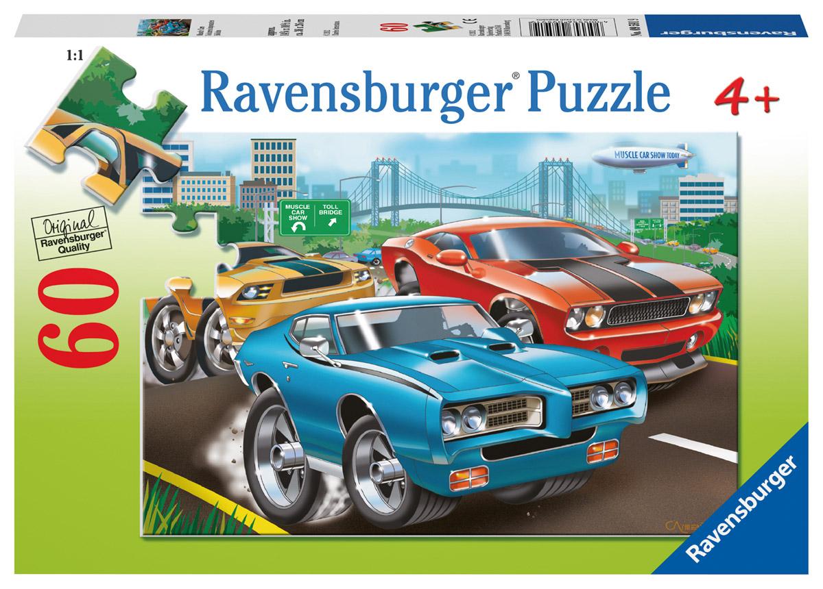 Ravensburger Пазл для малышей Гоночные машины ravensburger историческая карта пазл 5000 элементов