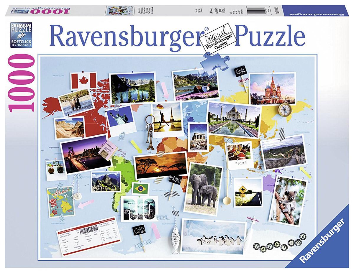 Ravensburger Пазл Воспоминания о путешествиях