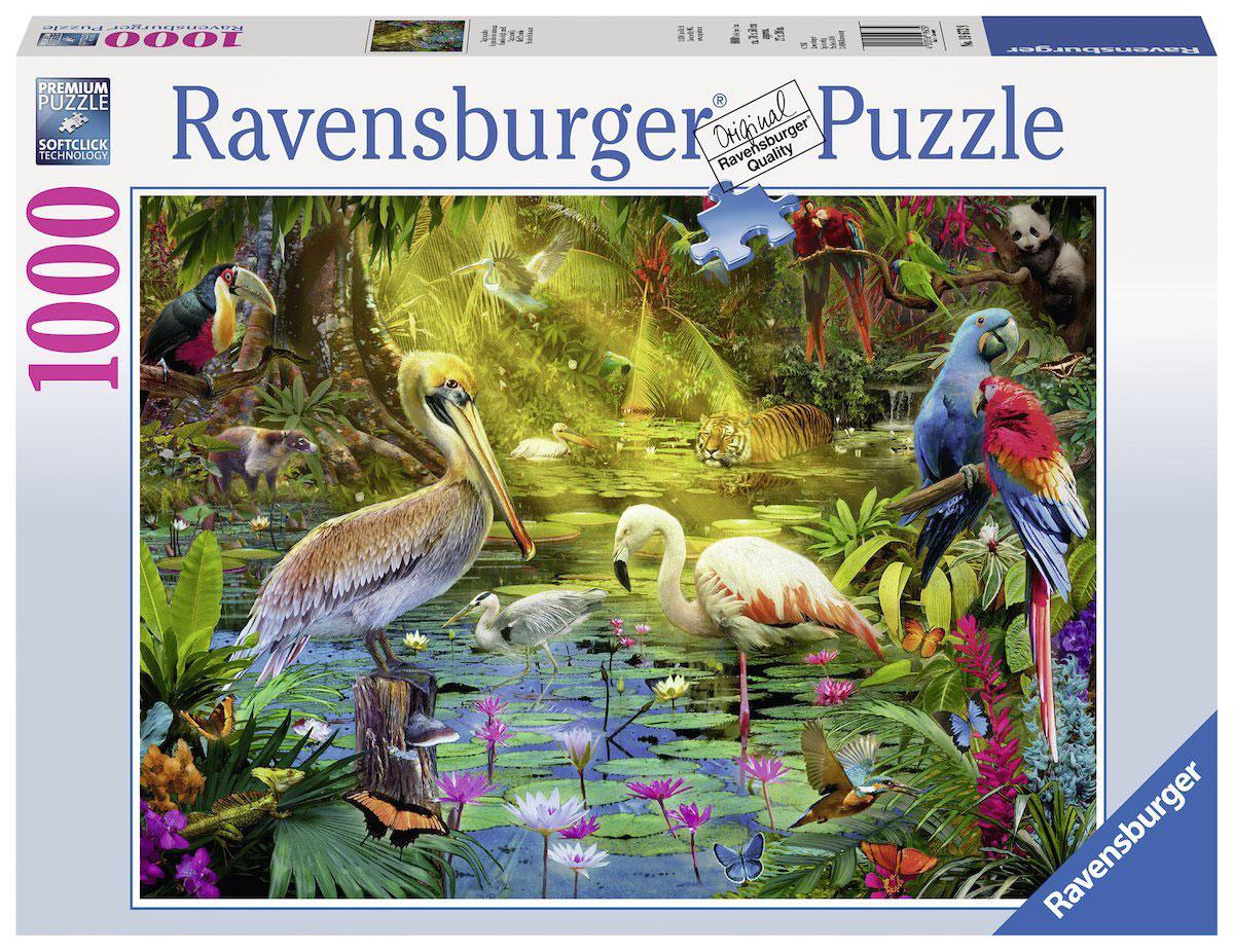Ravensburger Пазл Рай птиц