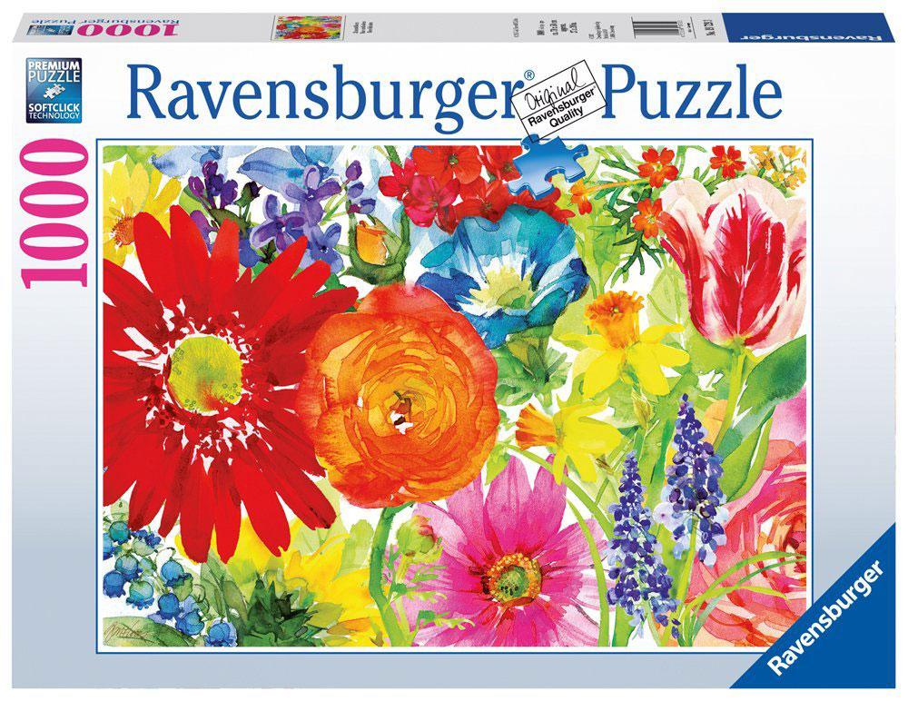 Ravensburger Пазл Пышное цветение