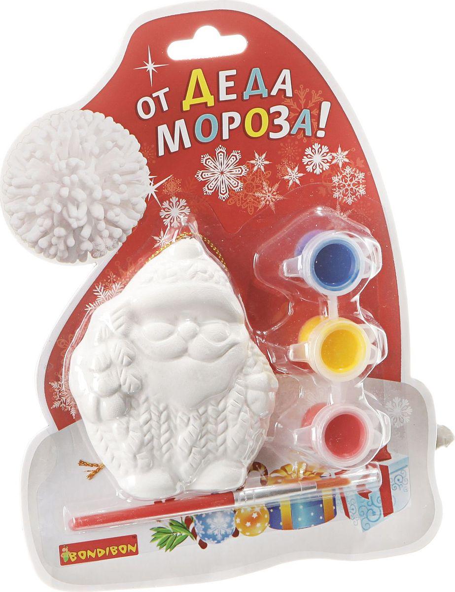 Bondibon Набор для изготовления игрушек Ёлочные украшения Дед Мороз ВВ1599 игровые фигурки maxitoys фигура дед мороз в плетеном кресле музыкальный