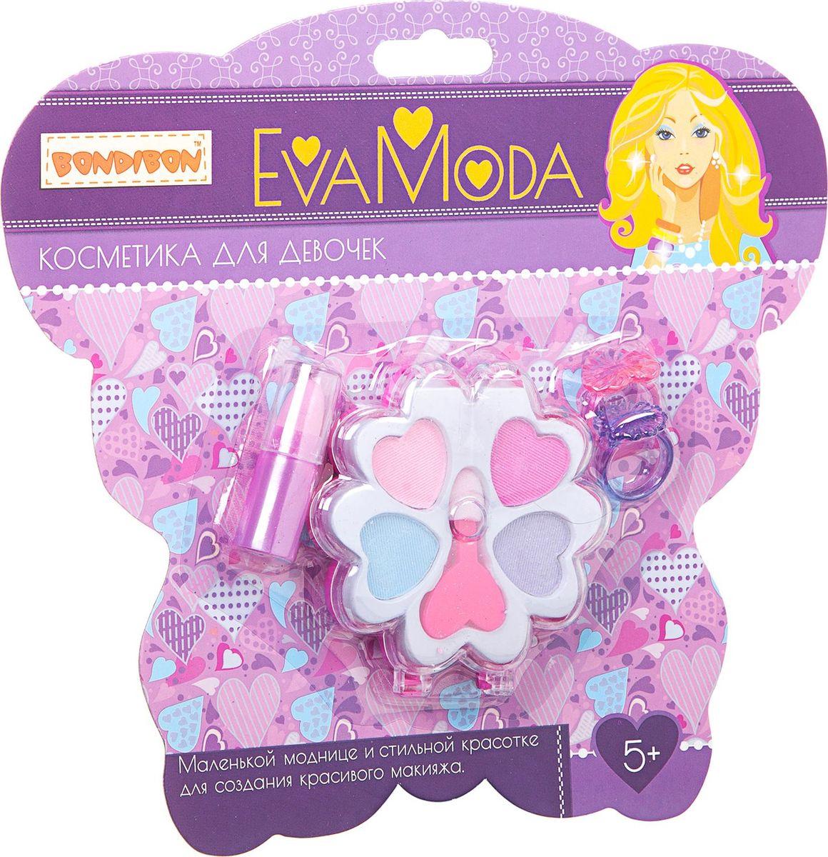 Bondibon Набор детской декоративной косметики Eva Moda ВВ1755 набор для творчества от bondibon и eva moda сверкающие кольца