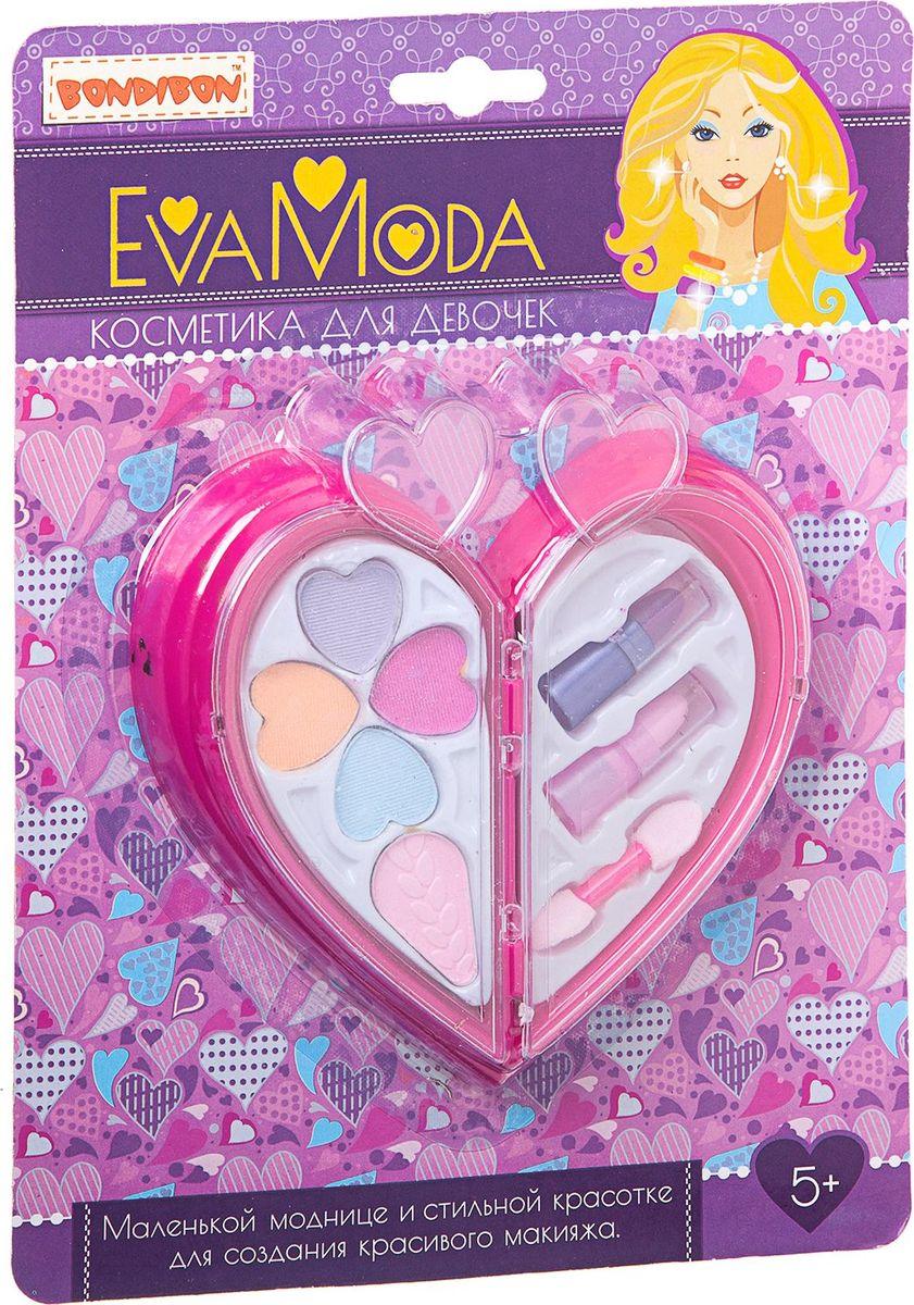 Bondibon Набор детской декоративной косметики Eva Moda ВВ1761 набор для творчества от bondibon и eva moda сверкающие кольца