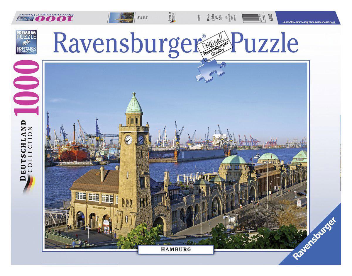 Ravensburger Пазл Гамбург