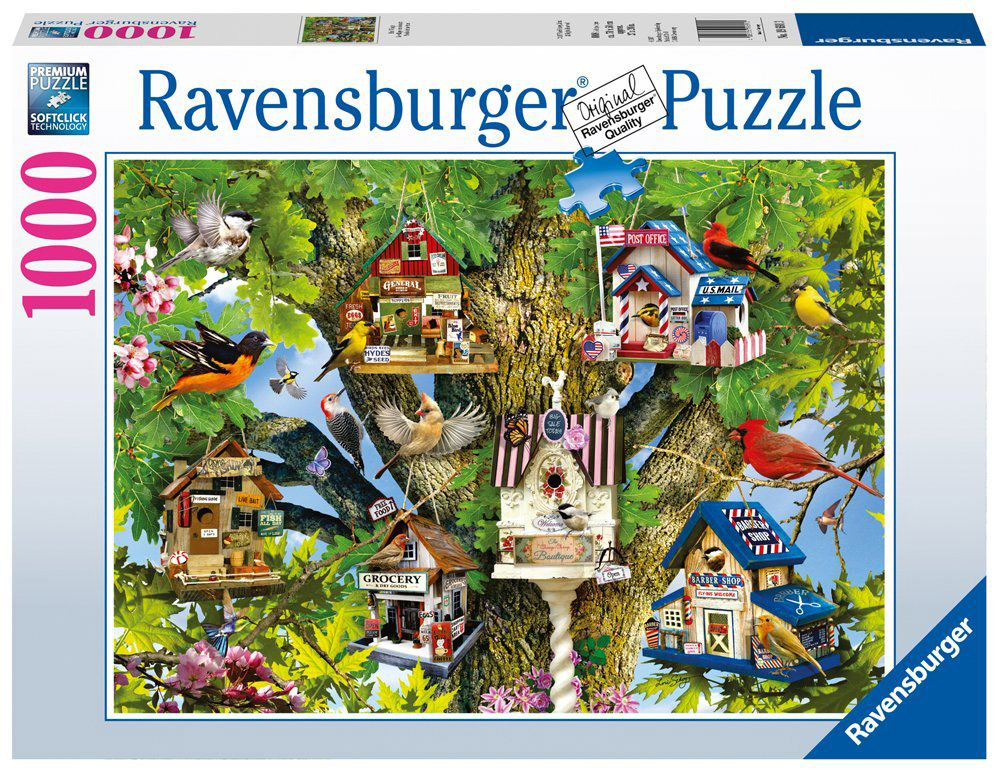 Ravensburger Пазл Город птиц