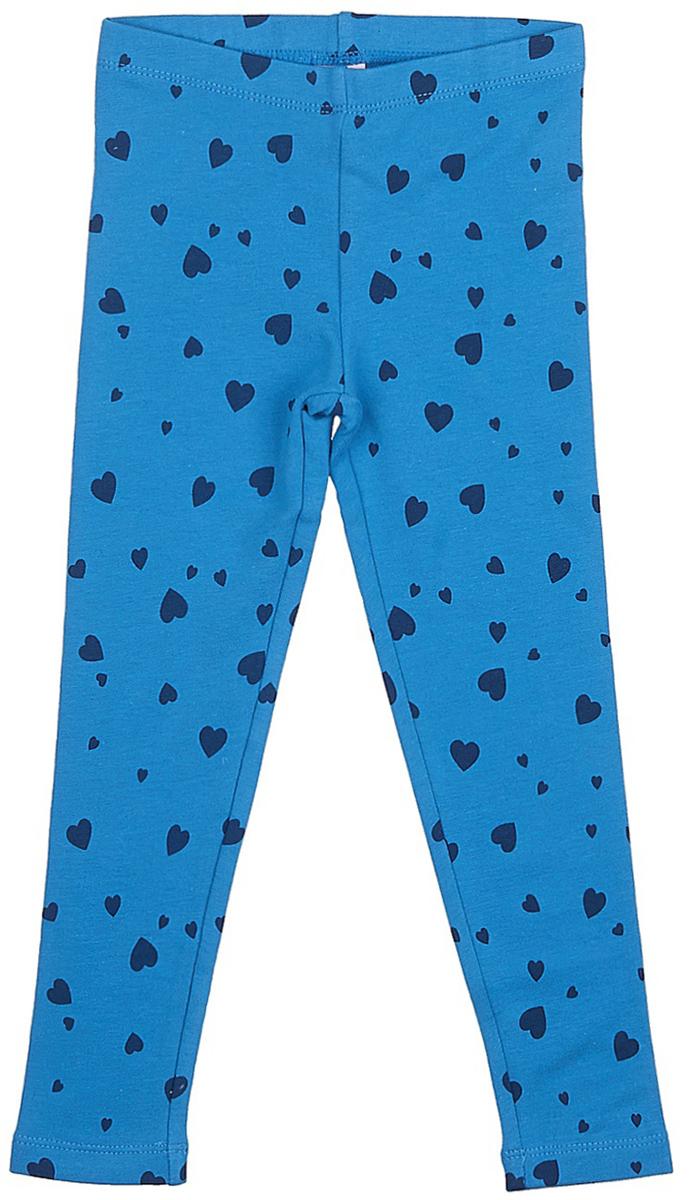 Брюки для девочки Sela, цвет: глубоководный синий. PLG-515/403-7331. Размер 98, 3 годаPLG-515/403-7331