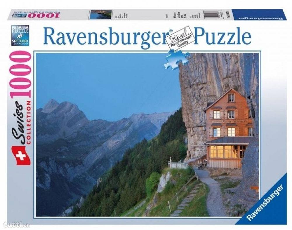 Ravensburger Пазл Отель в Швейцарии