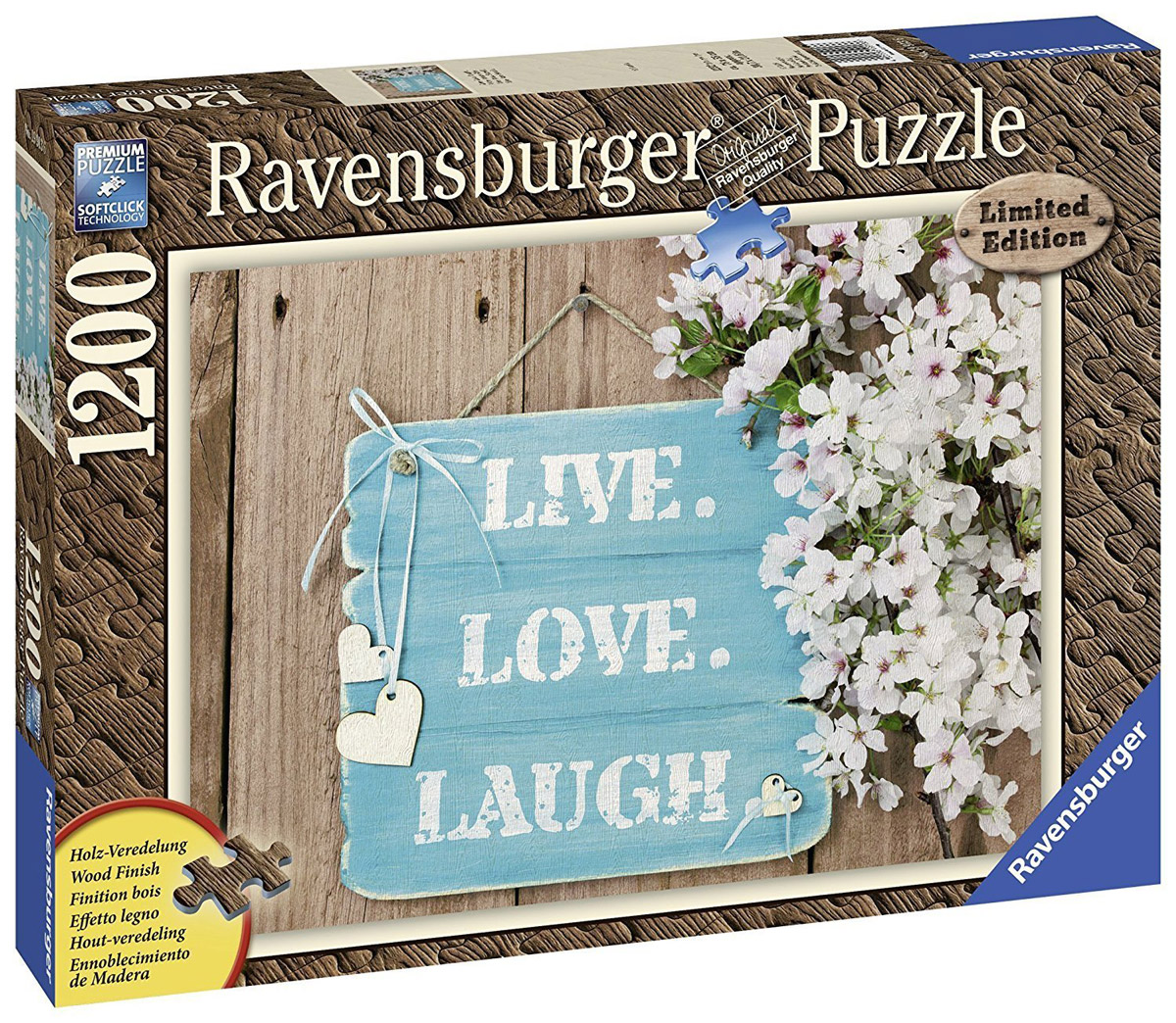 Ravensburger Пазл Живи люби смейся