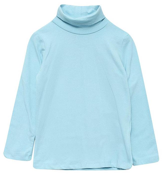 Водолазка для девочки Sela, цвет: пастельно-голубой. Tt-511/438-7331. Размер 116, 6 летTt-511/438-7331Водолазка для девочки от Sela выполнена из эластичного хлопкового трикотажа. Модель с длинными рукавами и воротником-гольф.