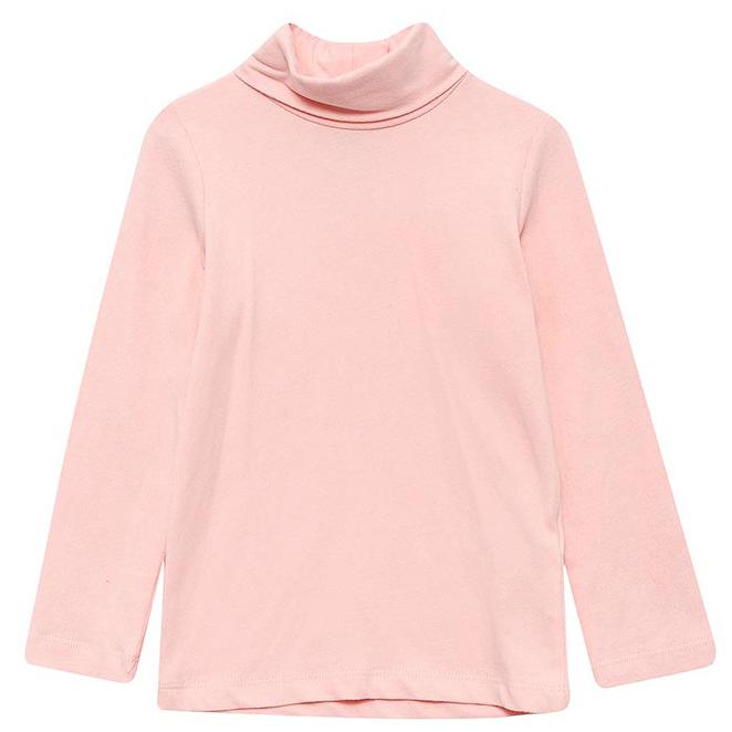 Джемпер для девочки Sela, цвет: розовая вода. Tt-511/438-7331. Размер 116, 6 летTt-511/438-7331Водолазка для девочки от Sela выполнена из эластичного хлопкового трикотажа. Модель с длинными рукавами и воротником-гольф.