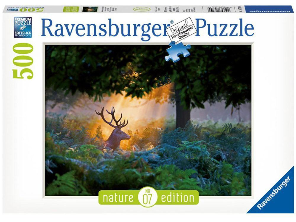 Ravensburger Пазл Олень в лучах заходящего солнца