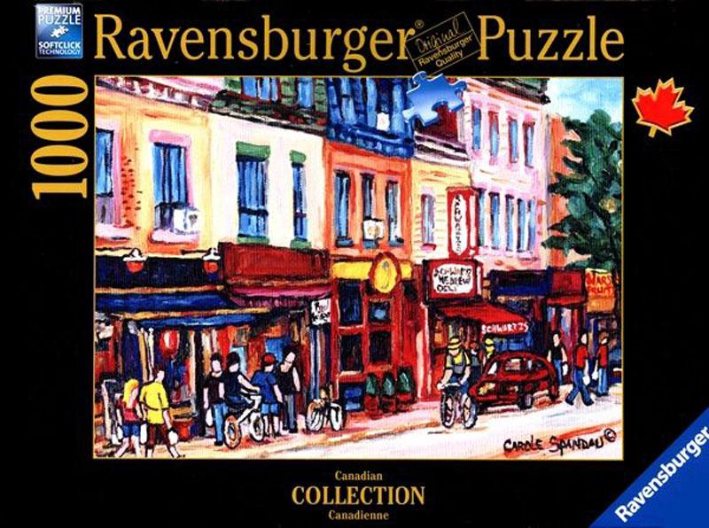 Ravensburger Пазл Монреаль 19624
