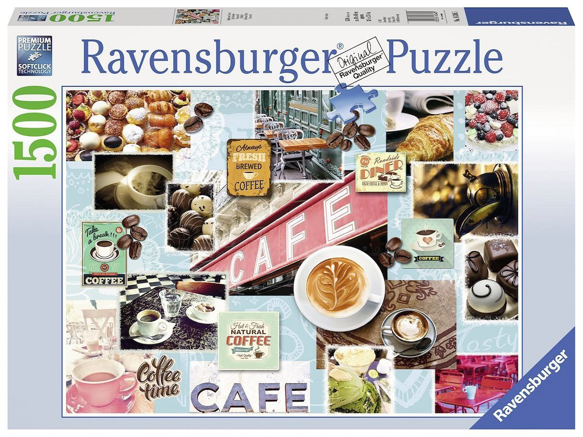 Ravensburger Пазл Кофе и сладости
