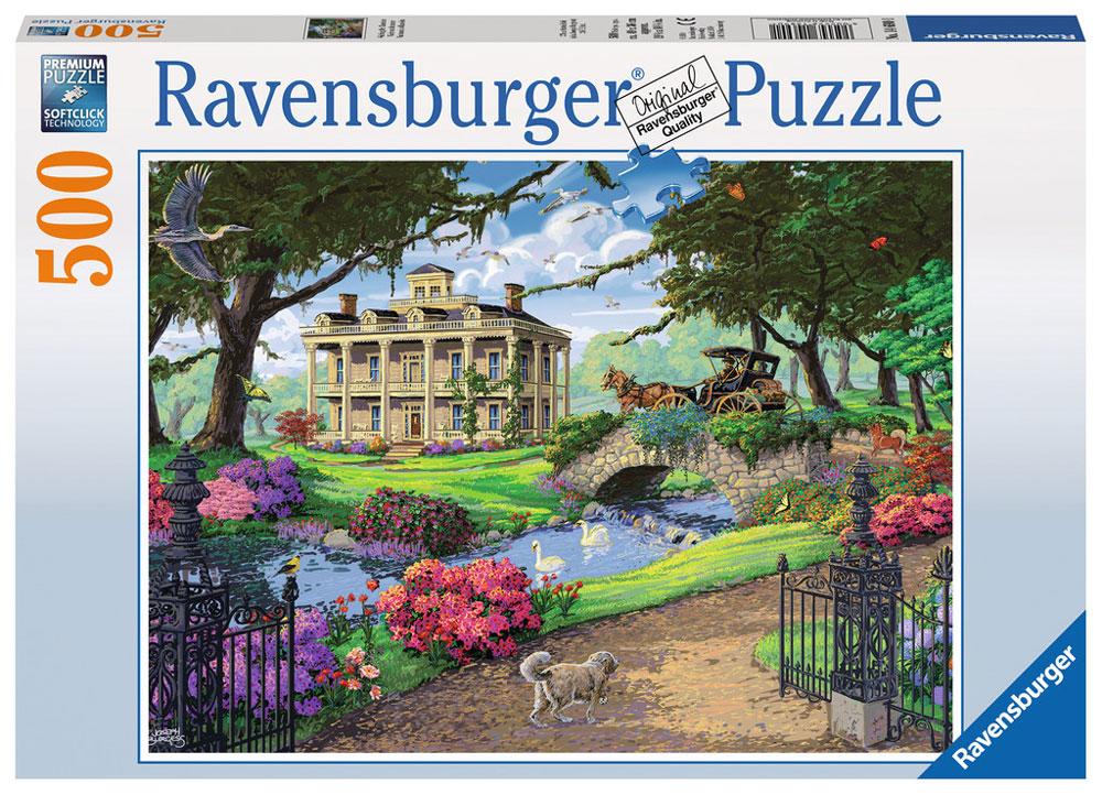 Ravensburger Пазл Посещение особняка