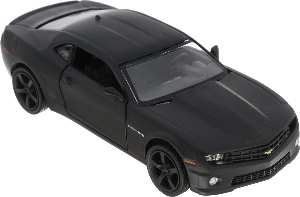 Autotime Модель автомобиля Chevrolet Camaro цвет черный машинки autotime машина lada 2104 такси