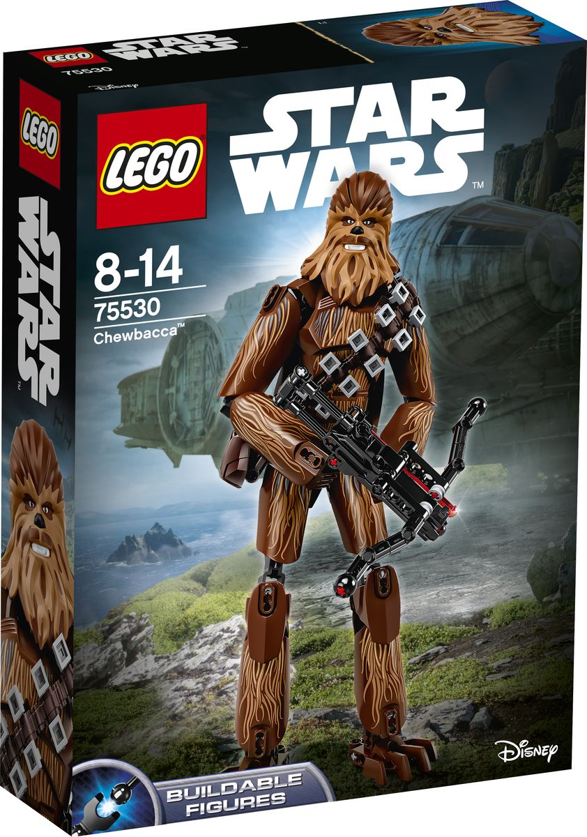 LEGO Star Wars Конструктор Чубакка 75530 lego star wars фигурка конструктор финн 75116