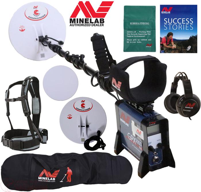 Металлоискатель Minelab GPX 5000 - Металлоискатели