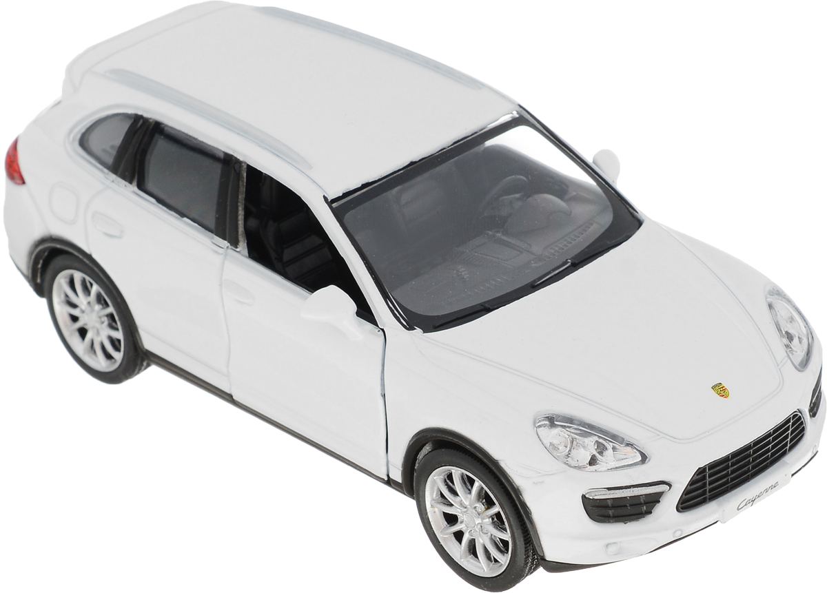 Autotime Модель автомобиля Porsche Cayenne Turbo цвет белый uni fortunetoys модель автомобиля porsche cayenne turbo
