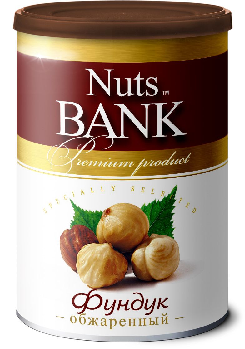 Nuts Bank Фундук обжаренный, 200 г 32oz superior mixed nuts gift tin unsalted