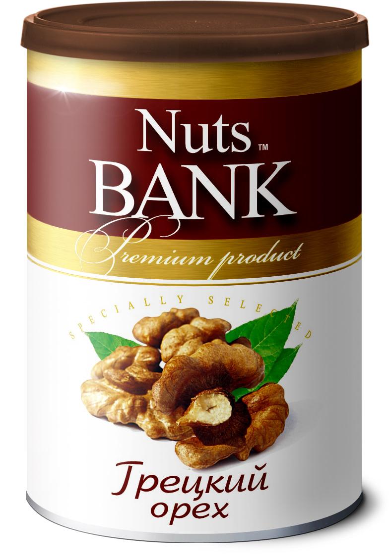 Nuts Bank Грецкий орех подсушенный, 125 гU920234Грецкие орехи содержат витамины группы А, Е, В, Р, С, а также минеральные вещества (калий, натрий, фосфор, железо, магний, кальций, йод). Грецкий орех – это прекрасный источник белка, который вполне может заменять животные белки.