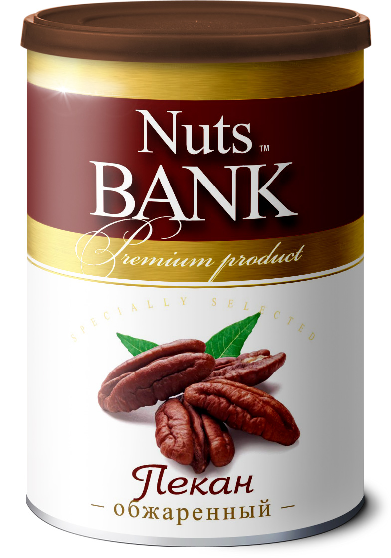 Nuts Bank Пекан обжаренный, 150 г 32oz superior mixed nuts gift tin unsalted