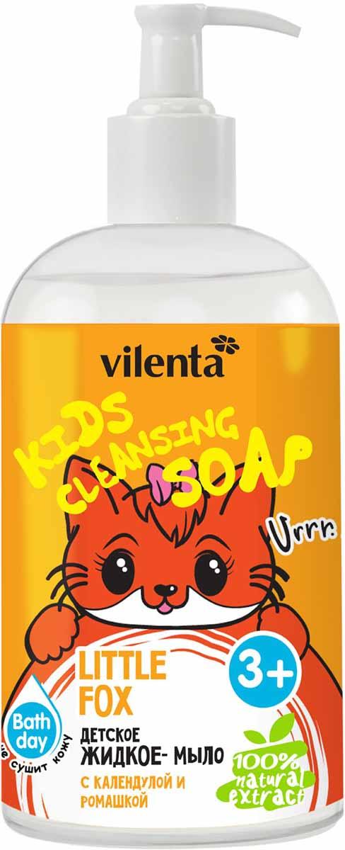 Vilenta Детское жидкое мыло Little Fox с календулой и ромашкой 300 мл vilenta beauty box musthave 450 мл