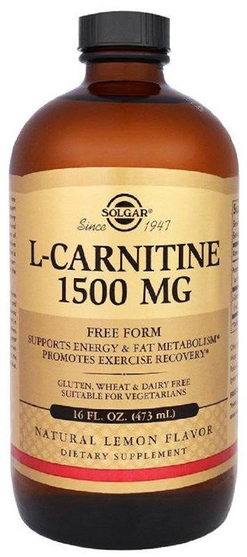 L-карнитин Солгар, 473 мл коррекция веса